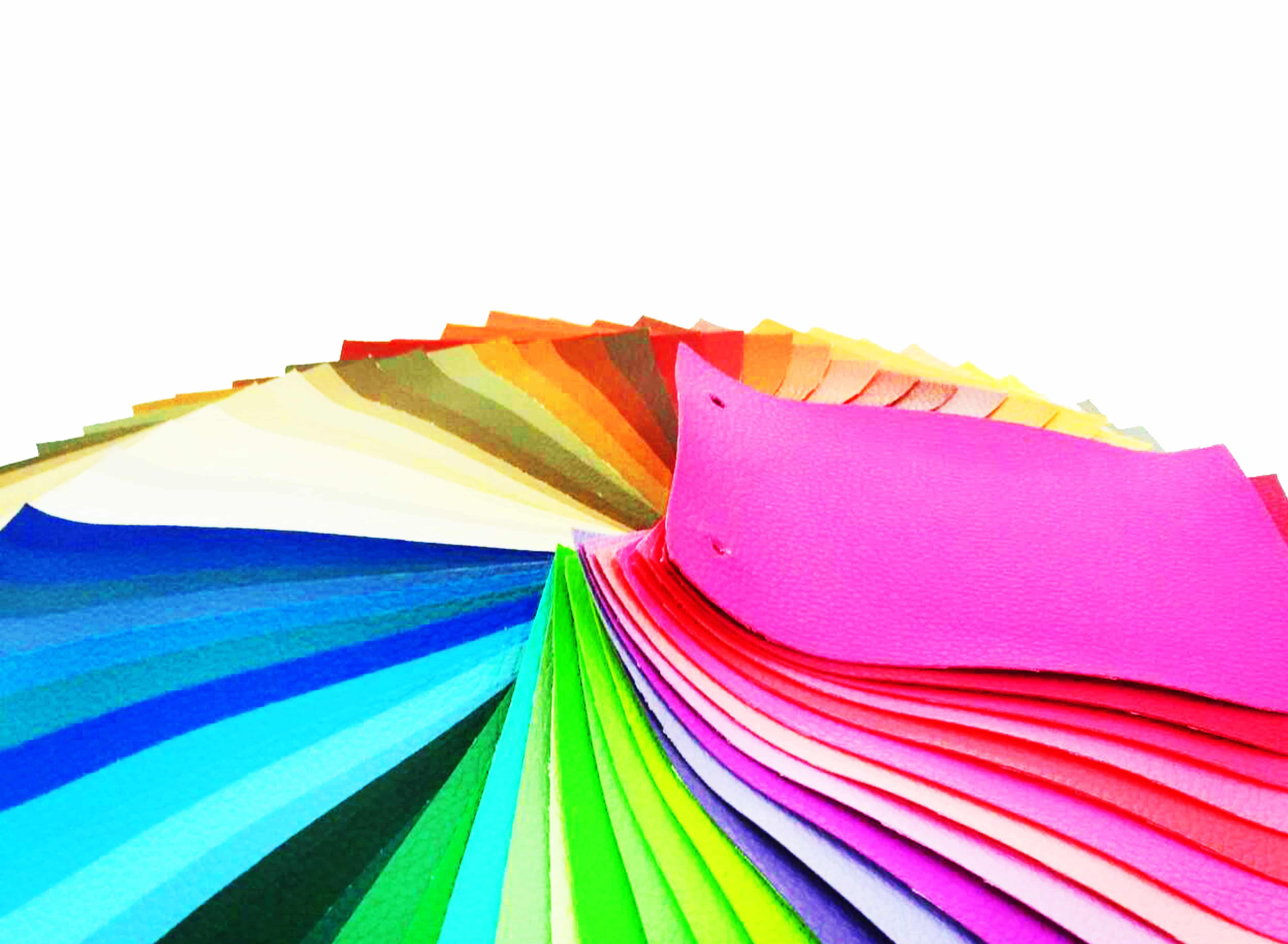หนังเทียมสีพื้น
